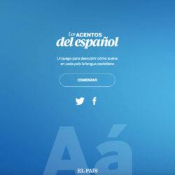 Juego Los Acentos del Español - NacionalidadYA.com