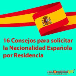 Consejos para solicitar la nacionalidad española - NacionalidadYA.com
