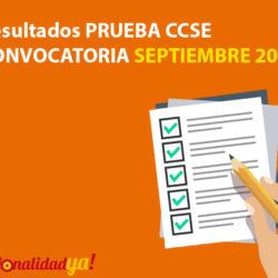 Resultados Prueba CCSE oficial (convocatoria Septiembre 2017) - NacionalidadYA.com